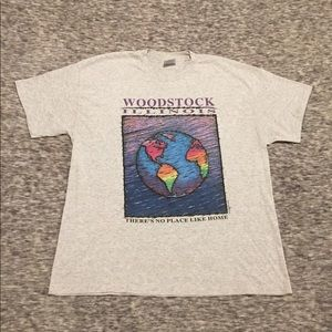 Vintage Woodstock Illinois single stitch, 1993